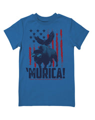 Boys 4-7 Farm Boy Murica Tee