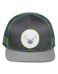 Boys Farm Boy Pig Camo Mesh Cap