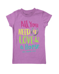 Girls 4-6X Farm Girl All You Need Tee