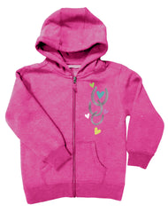 Girls 4-6X Farm Girl All You Need Zip Hoodie