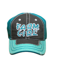 Girls Farm Girl Campus Youth Cap
