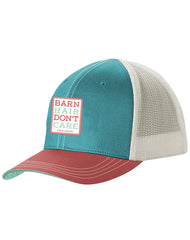 Girls Farm Girl Barn Hair Youth Cap