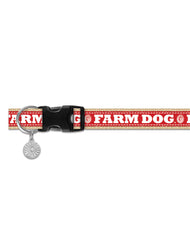 Farm Dog Ribbon Collar