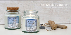 Eco Crackle Candle - Scented Jar Candle