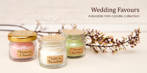 Wedding Favours - Mini Scented Candles