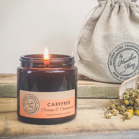 CAREFREE Aromatherapy Candle