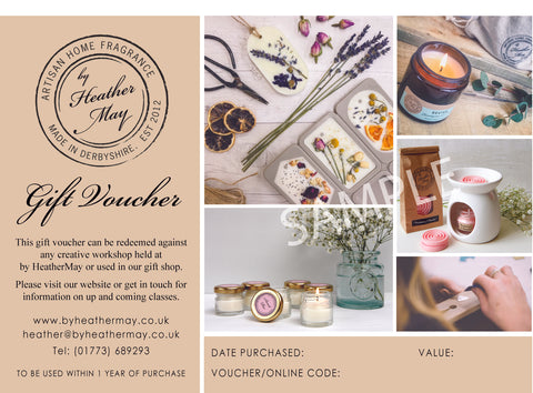 Gift Voucher | Creative Workshops & Gifts
