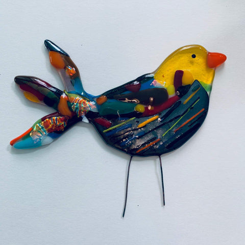 Fused Glass Birds Workshop | Saturday 29th Feb | 10am till 12.30pm