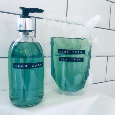 Hand Wash | Liquid Hand Soap | 400ml Refill Pouch