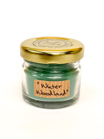 Mini Candles - Winter Woodland