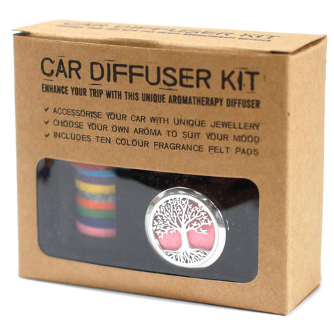 Aromatherapy Car Diffuser Kit | Mood Enhancing Fragrance
