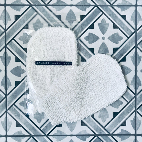 Bamboo Wash Mitt | Natural Exfoliating Glove