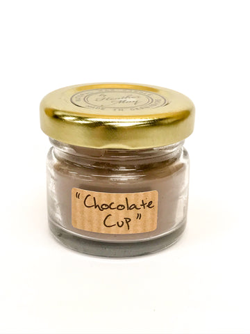 Mini Candles - Chocolate Cup