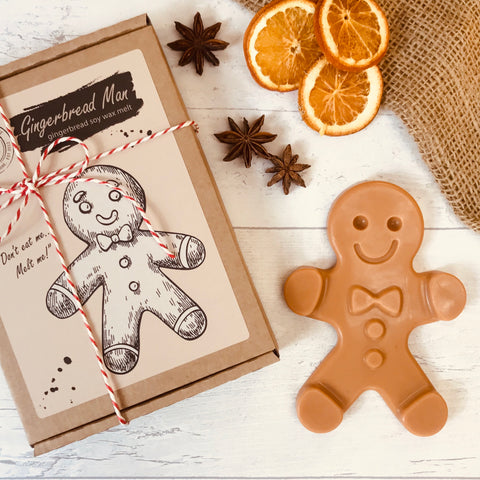 Gingerbread Man | Life Size 75g Wax Melt