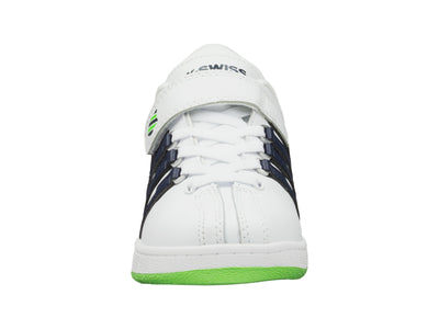 53446-939-M | CLASSIC VN VLC | WHITE/NAVY/LIME GREEN