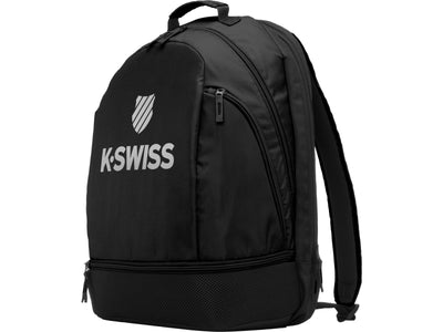 BG126-019 | TENNIS BACKPACK | BLACK/SILVER