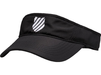 C3131-002 | COURT VISOR | BLACK/WHITE