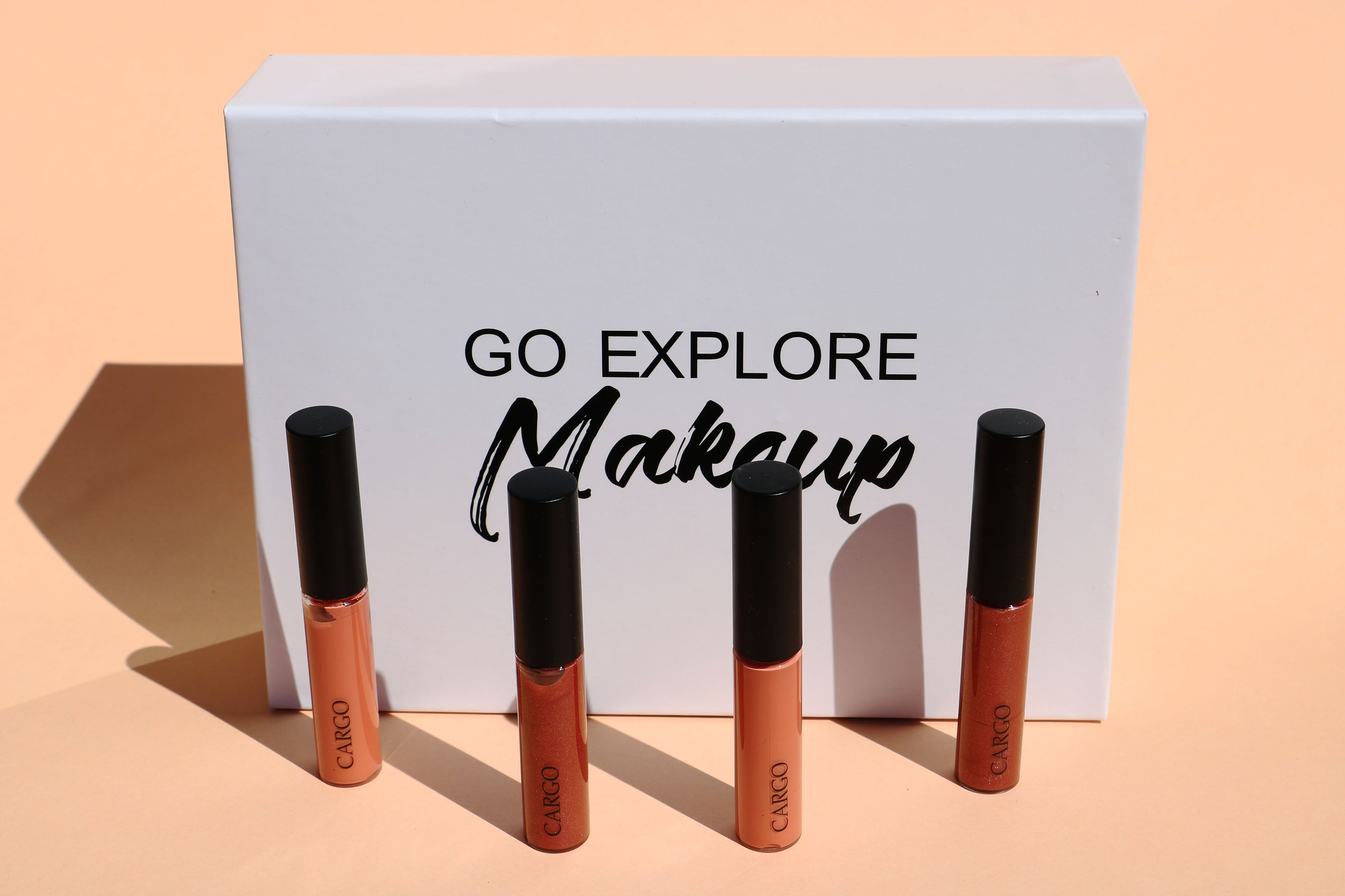 Go Explore Makeup x Cargo Cosmetics