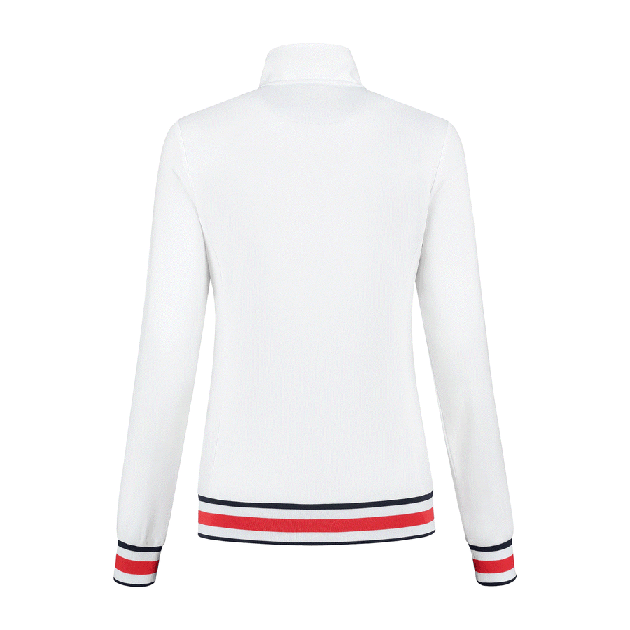 194232-100 | HERITAGE SPORT TRAININGS JACKET | WHITE