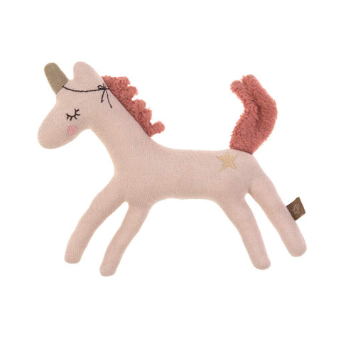 Lassig Knitted Rattle Toy, More Magic Horse