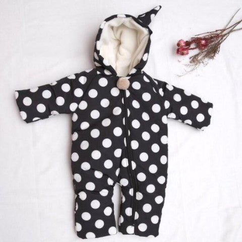 Dotted Fairy Snowsuit (6-12M)