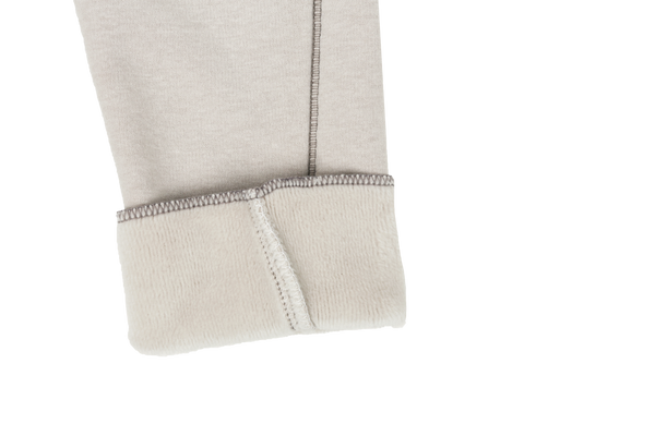 Eve Fleece Slim Pants, Beige