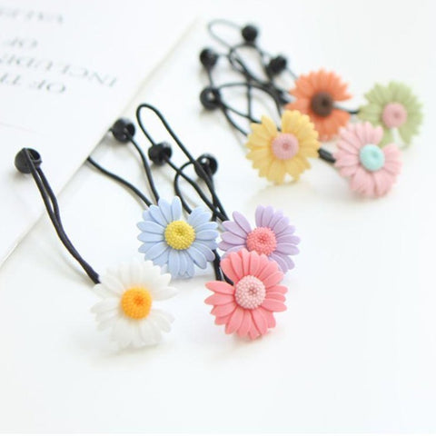Daisy Hair Bobble (Set of 4)