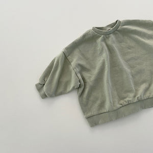 Rudy Soft Sweatshirt, Light Olive