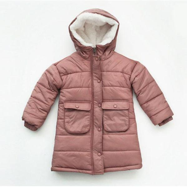 Torte Puffer Coat, Dusty Pink