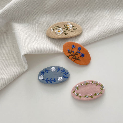 Florist Embroidery Clip, 3 Colours