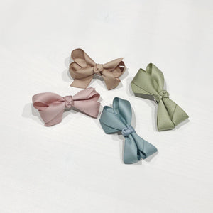Lily Bow Clip, 4 colours