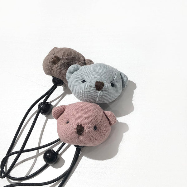 Teddy Hair Bobble, 3 Colours