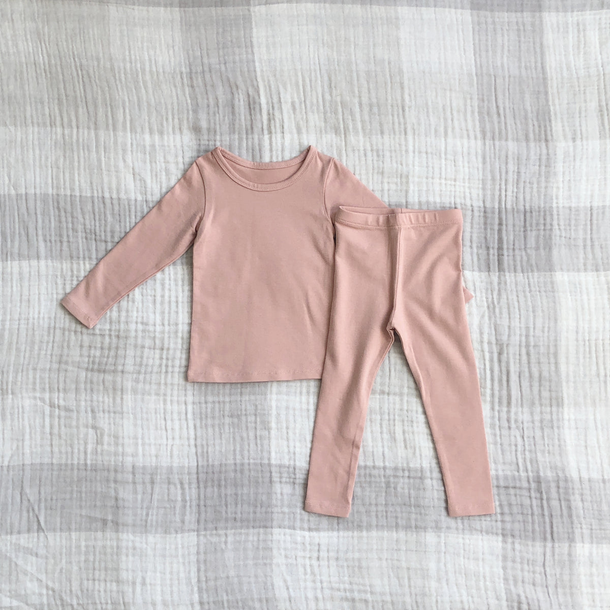 Solid Daily Set, Light Pink (12-18m)