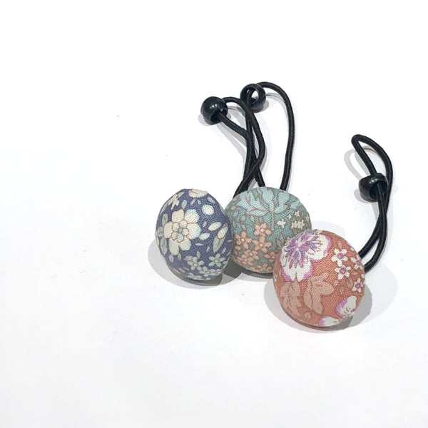 Floral Hair Bobble Set, 3 Colours