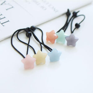 Pastel Stars Hair Bobble (Set of 6)