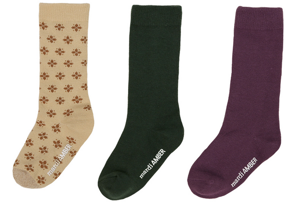 Clover Socks Set, 2 Colours