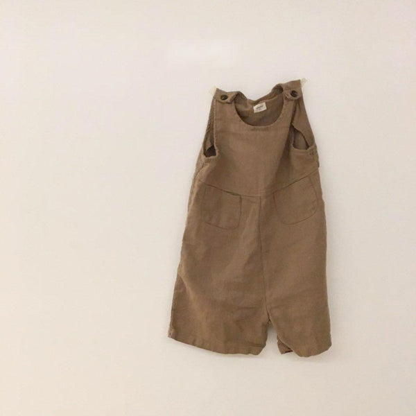 Wide Fit Overall (Yellow Beige left, 5-6Y)