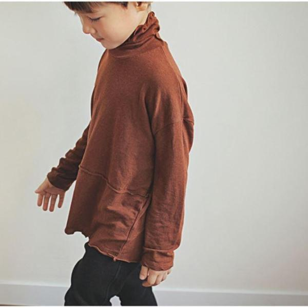 Soft Dream Turtleneck, Brown