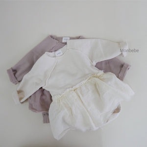 Soft Dream Tutu Romper, Ivory