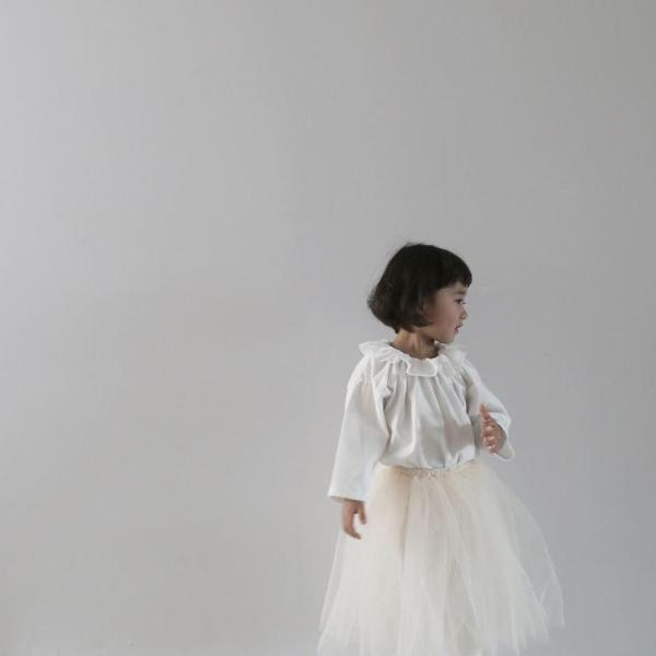 Spring Tulle Skirt Set, Ivory (3-5Y)