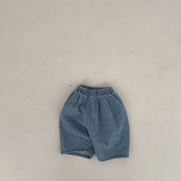 Simple Relaxed Pants, Denim (18-24m)