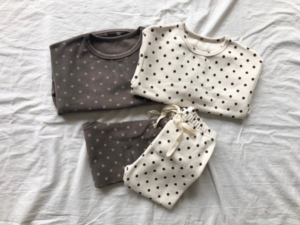 Dotted Basic Set, Cream
