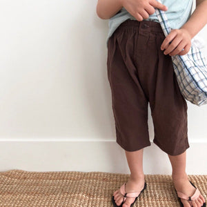 Soft Pop Pants, Brown