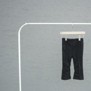 Soft Pintuck Pants, Black