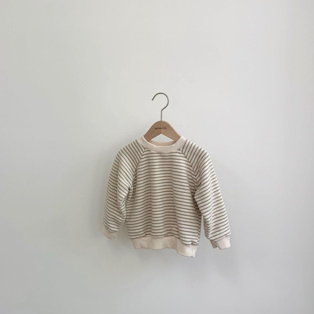 Noah Striped Sweatshirt, Olive
