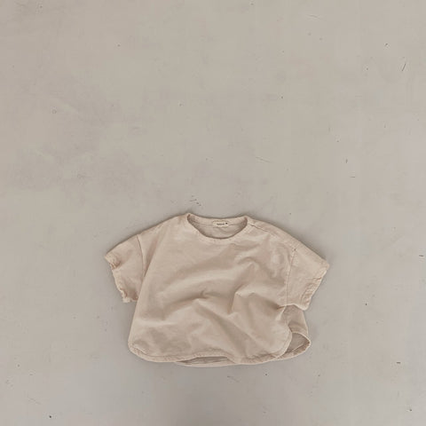 BB Easy Wide Tee, Cream