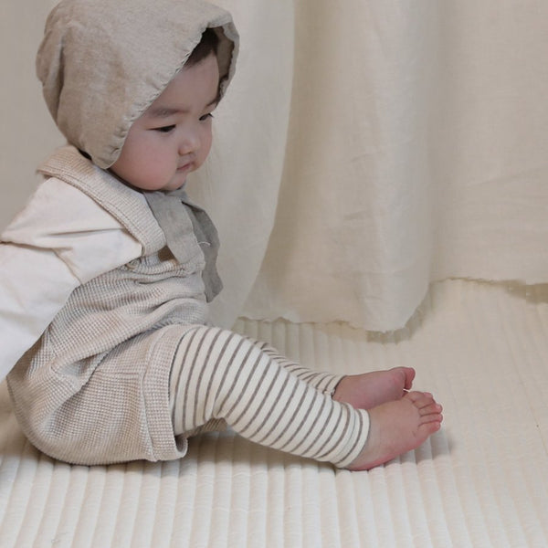 Baby Waffle Knit Bloomers, Oatmeal