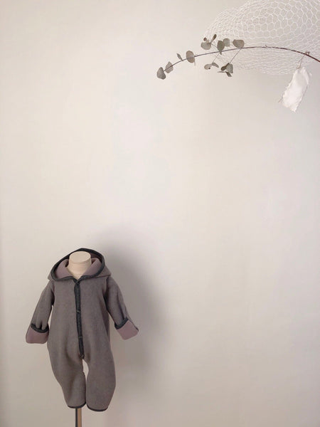 Handmade Winter Jumpsuit, Grey