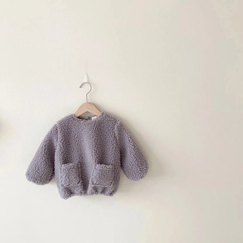 Merry Teddy Jumper, Grey