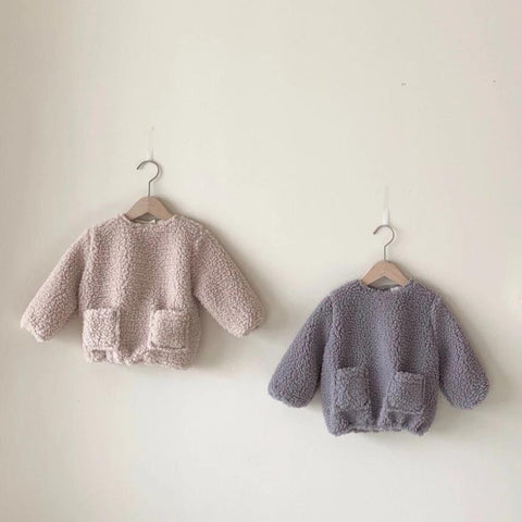Merry Teddy Jumper, Light Beige